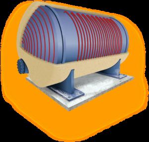 Обігрів резервуарів (бочок, цистерн)