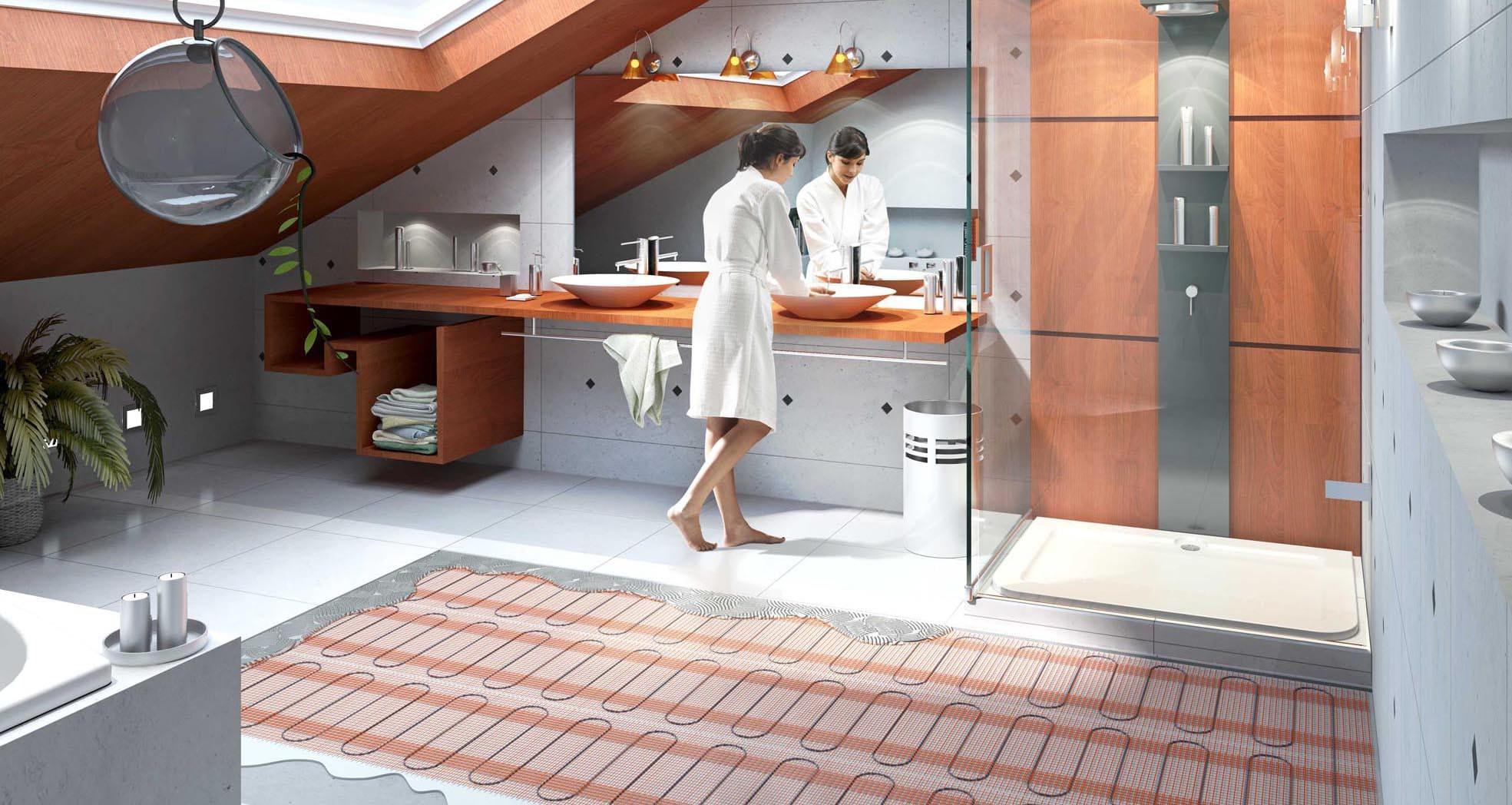 Види теплої підлоги та її переваги
