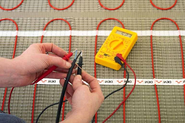 проверка греющего кабеля