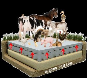 Система обігріву для тваринництва