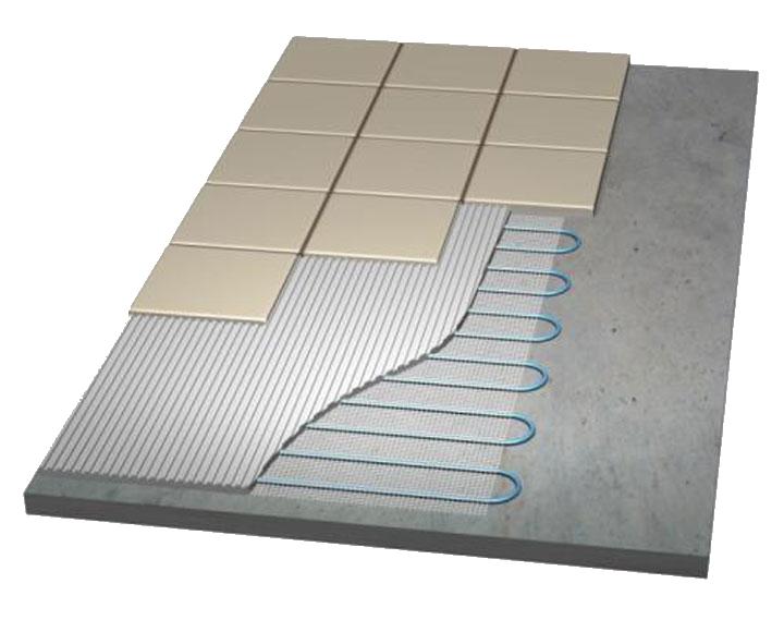 Електрична тепла підлога в стяжку